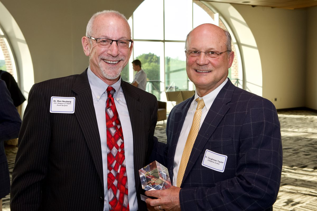 Ron Neuberg, MD, and R. Caughman Taylor, MD